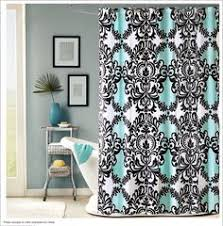 vegas style bathroom caprice black shower curtain w sequins
