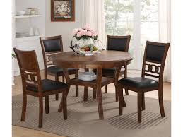 Dining Table Store New Classic D1701 50s Brn Dining Table And Chair Set With 4