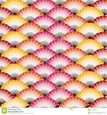 japanese fan japanese fan patterns stock illustration image 42115264