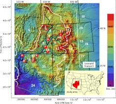 Plateau Of Mexico Map by Denudation And Flexural Isostatic Response Of The Colorado Plateau