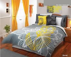 Yellow And Grey Bed Set Click To Order 225 90 Yellow Gray White Comforter Duvet Sheets