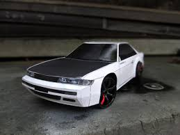 rc drift cars budget rc drift nissan silvia s13 body done with paper wonna see
