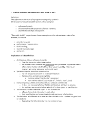 Resume Objective Samples For Any Job by Software Architecture Unit 1 Notes