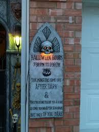 halloween graveyard sign u2013 festival collections