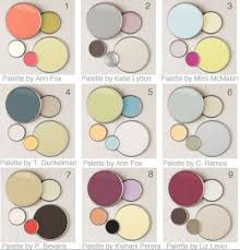 fresh color palettes for home interior home decor color trends