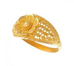 gold nice rings images 22k gold ring ajri50987 22k gold ring with intricate filigree jpg