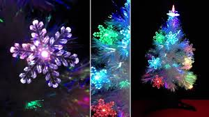 decor ft fibre optic white tree with