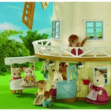 sylvanian families garden set buy sylvanian families field view mill online at toy universe