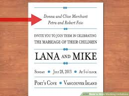 how to write a wedding invitation 3 easy ways to write wedding invitations with pictures
