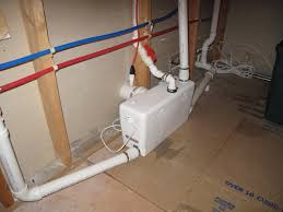 Basement Bathroom Ejector Pump Saniflo Product Release Herndon Plumbing Installer Recommends