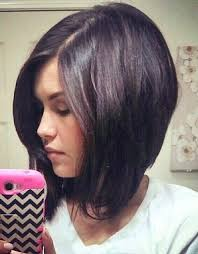 medium length angled hairstyles angled long bob haircut popular long hairstyle idea