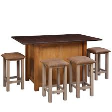 custom solid wood amish built kitchen islands mission kitchen