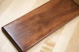 How To Lighten Stained Wood by A Finishing Trick For A Dark Even Color In Walnut Woodworking