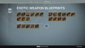 Buy Blueprints by Destiny The Taken King How Exotic Blueprints Work Usgamer