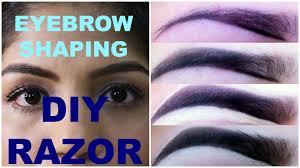 How To Do Eyebrow How To Do Eyebrow Shaping At Home U2013 World Novelties Makeup 2017