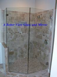Angled Shower Doors Custom Framed Frameless Glass Shower Doors
