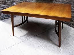 mid century walnut dining table circa midcentury mid century walnut dining table