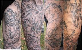 heaven vs hell theme by farlese tattoonow