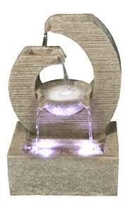 design zimmerbrunnen zimmerbrunnen design key polystone brunnen inkl pumpe und led