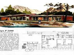 mid century ranch floor plans mid century modern home plans inspirational home architecture curb