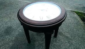 Clock Coffee Table Clock Coffee Table Renewableenergy Me