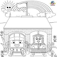 thomas train coloring pages thomas friends coloring pages