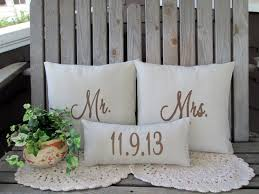 mr and mrs pillow mr mrs pillow covers custom wedding date mr and mr pillow