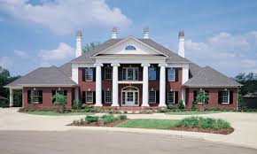 Southern Style Home Plans Garrison Style House Southern Colonial Style House Plans Garrison