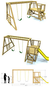 Wood Furniture Plans Free Download by Best 25 Swing Set Plans Ideas On Pinterest Swing Sets Diy Play