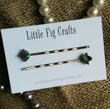 best bobby pins 13 best handmade hair grips by fig crafts images on