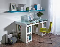 Diy Glass Desk Home Dzine Home Diy Home Office Desk With Glass Topped Storage Space
