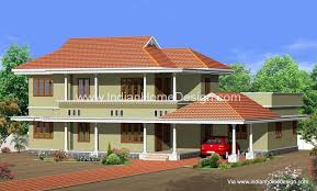 traditional kerala style elevation idea for a 2250 sq ft 4 bedroom