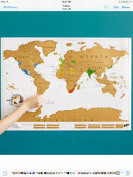 World Wall Map by Large Scratch Map World Wall Map With Scratch Off Gold Foil