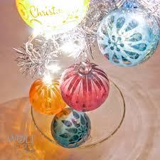 blown glass christmas tree ornaments christmas lights decoration