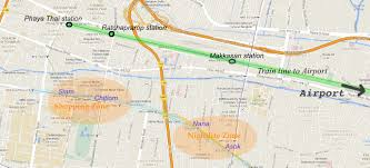 Bangkok Map Where To Stay In Bangkok Best Places To Stay In Bangkok