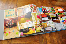 birthday yearbook our family s picture storage solution yearly photo books