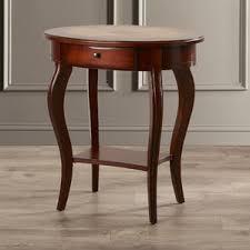 cherry end u0026 side tables you u0027ll love wayfair