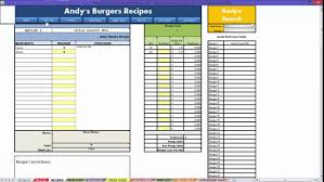 Inventory List Excel Template Restaurant Excel How To Recipes Video Youtube