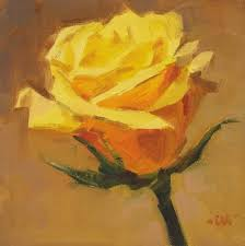 Golden Roses Carol Marine U0027s Painting A Day
