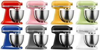 Kitchen Aid Standing Mixer by Kitchenaid U0027s New Mini Stand Mixer Targets Millennials And Baby
