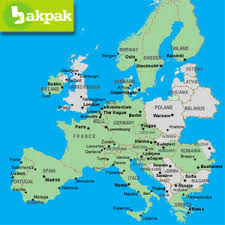 rail europe map eurail global consecutive rail europe pass
