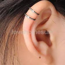 cuff earrings unisex ear clip cuff earrings no piercing helix cartilage