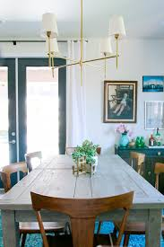 Farmhouse Table Centerpiece Dining Room Rustic With Arched Doorway Kitchen Remodel With A Custom Look Rebecca Zajac Hgtv