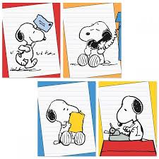 snoopy cards peanuts snoopy bright note cards current catalog