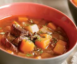 beef u0026 wild rice soup with winter vegetables recipe