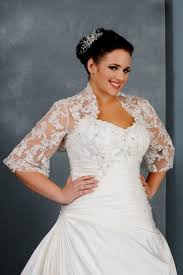 plus size wedding dresses with sleeves or jackets 2016 2017 b2b