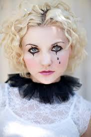 Halloween Costumes Circus Theme Mime Love Collar Love Teardrops Circus Party