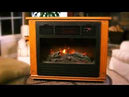 Infrared Electric Fireplace Lifesmart Infrared Electric Fireplace Warms Any Room The Home