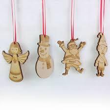 personalised christmas tree decoration set by meenymineymo