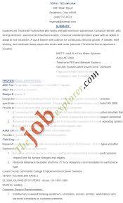 Electronic Technician Resume Sample Technician Resume Resume Badak